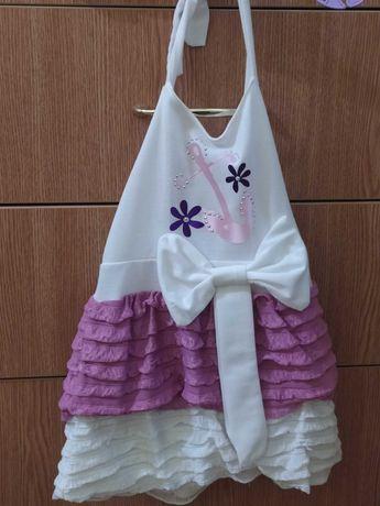 Новое красивое платье на девочку 3-5 лет, 500₽