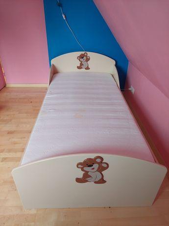Łóżko dziecięce 90x200 Baggy z misiem