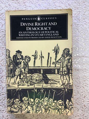 Divine Right and Democracy- livro em segunda mão