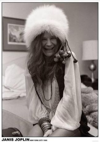 Lote 2 Posters novos The Doors & Janis Joplin