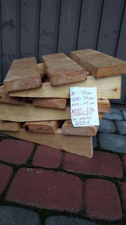 zagłówek do sauny - drewniany