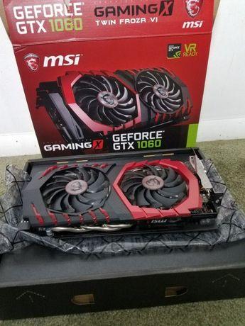 Продам видеокарту MSI GeForce GTX 1060 Gaming X 3GB GDDR5 (192bit)