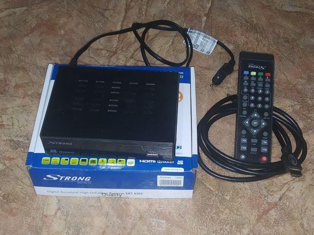 TV Тюнер (ресивер) Т 2 STRONG SRT 8202 - DVB-T2