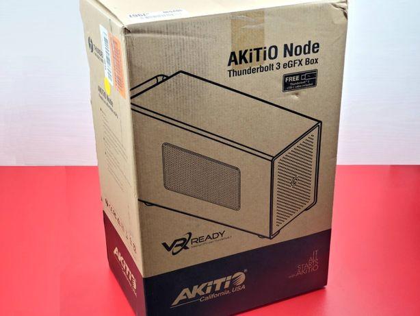 Akitio Node (Thunderbolt 3) Внешняя ВидеоКарта —Macbook eGFX eGPU Dell