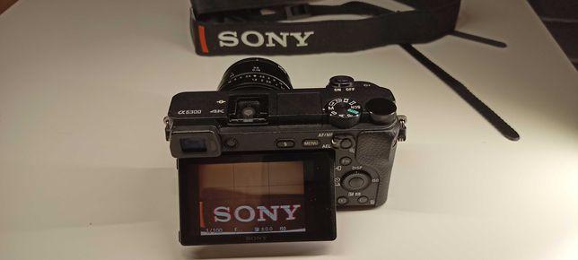 Sony A6300 25k przebieg 4 BATERIE + torba