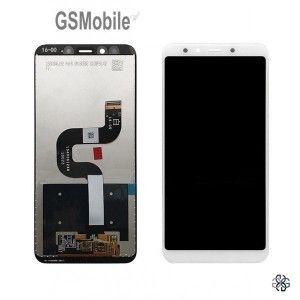 Ecrã - Display LCD Touch Xiaomi Mi A2 MiA2 Mi6X Mi 6X Branco Preto