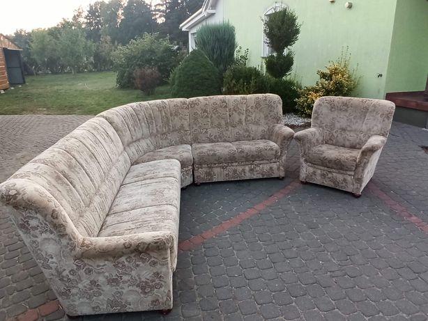 Narożnik i fotel