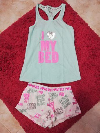 NOVO Conjunto de pijama de malha tamanho S