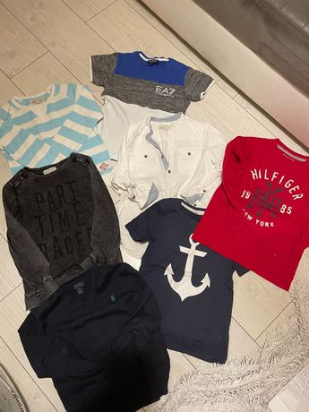 Bluzki, bluzy,  t-shirt H&M Armani Tommy Hilfiger Calvin Klein
