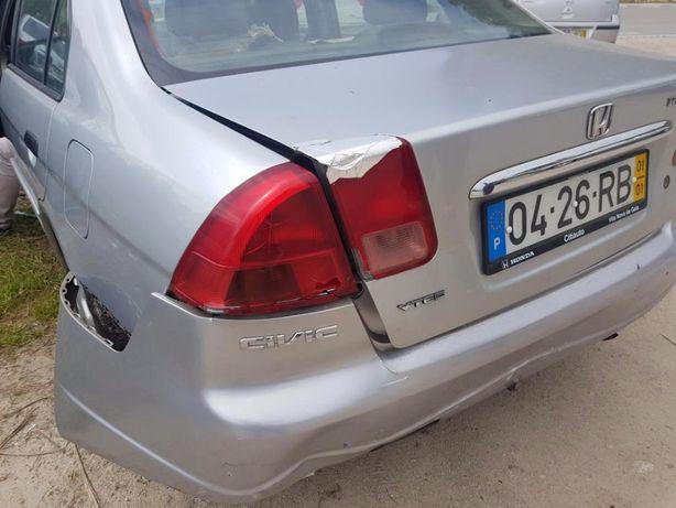 Para peças Honda Civic VII 4 portas e 2 portas 2000 a 2005