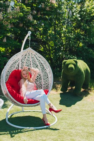 Скидка на доставку. Подвесное кресло кокон Веста. Садовая качеля гамак