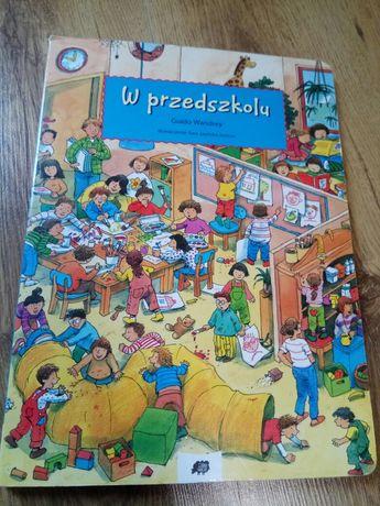 W przedszkolu - sztywna ksiażka