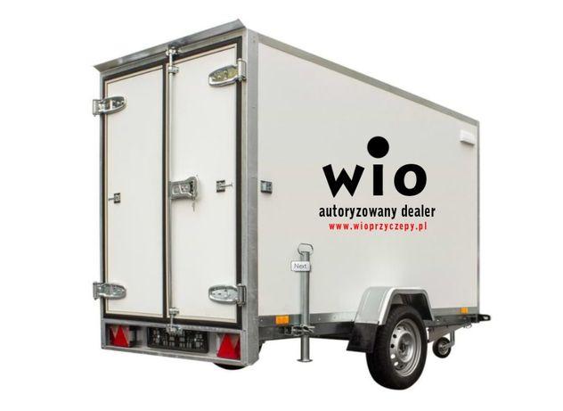 Kontener Cargo Furgon SOLIDNY BOX 2,5m jednoosiowy DMC 750kg Chłodnia