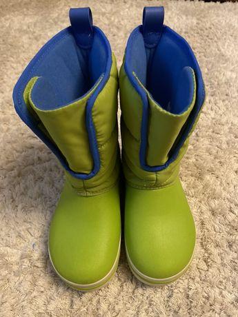 Термо сапоги, зимние ботинки, сноубутсы Crocs оригинал