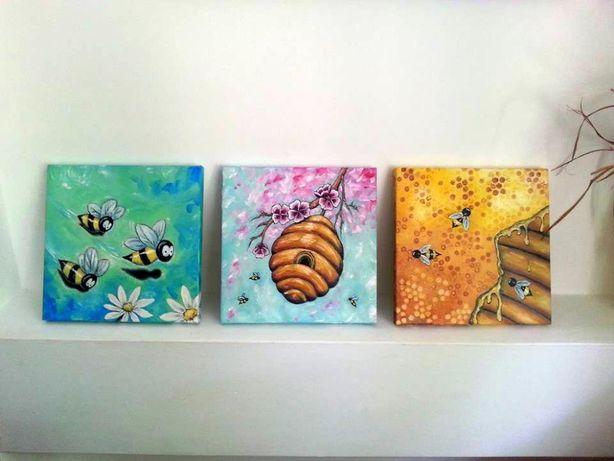 """Obraz """"Trzy Pszczoły"""""""