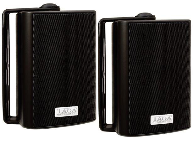 Głośniki zewnętrzne TAGA Harmony TOS-215 - para (czarne)