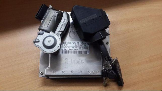 ЕБУ Блок замок зажигания ключь esp mercedes om611 om612 om646 2.2cdi