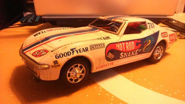 1:18 Made in Japan 1970 Corvette   Taiyo  Sem Vidros , A Funcionar