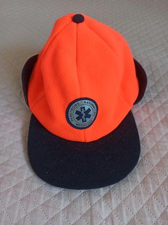 Zimowa czapka medyczna