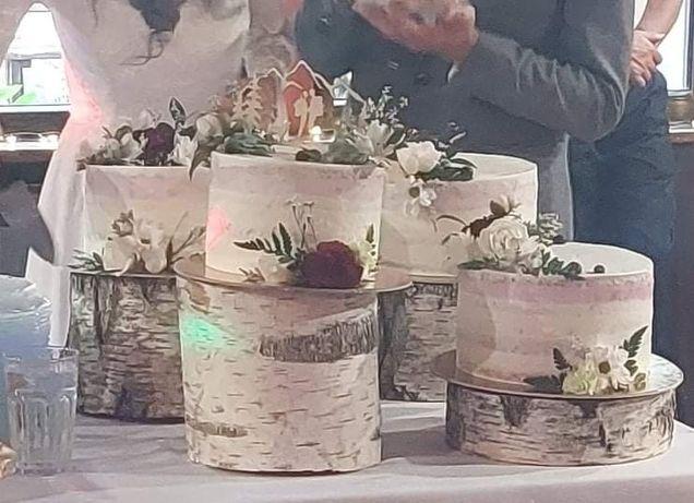 Styl rustykalny pozostałość po weselu