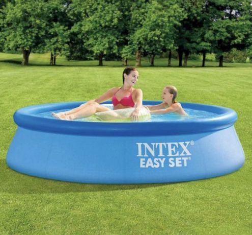 Надувной бассейн семейный\Детский-244смх61см,   Intex 28106