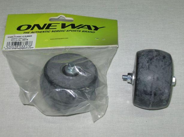 Nowe Koło błotnik nartorolki One Way wheel classic 43 rubber