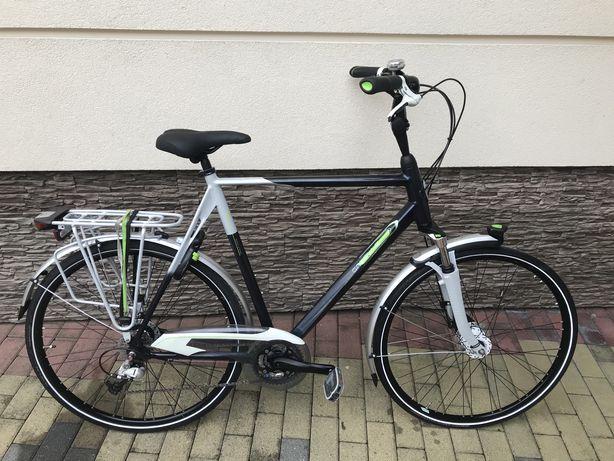 "Rower miejski Gazelle Allure 28"" 65cm Shimano Deore"