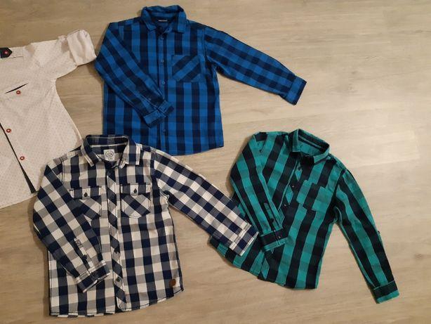 Koszule rozmiar 122