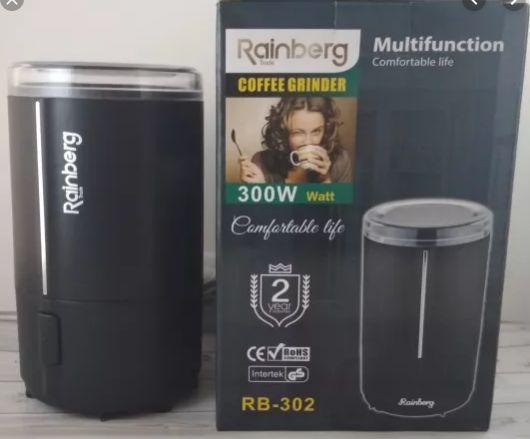 Кофемолка Rainberg RB-302 300 Вт измельчитель. Мощная!