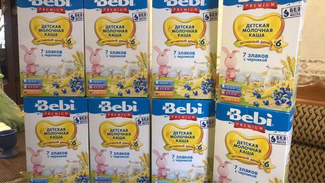 Каша молочная Bebi premium