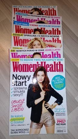 Woman's Health cały rocznik 2014