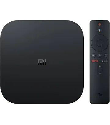 Chromecast -  Xiaomi Mi Box S - 4K Ultra HD, Android TV, 8 GB