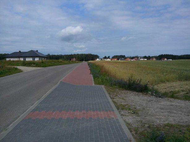 Działka z dostępem do drogi asfaltowej