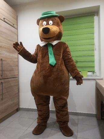 MIŚ YOGI chodząca żywa maskotka kostium strój reklamowy