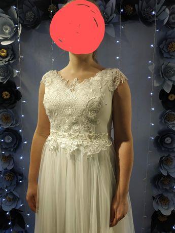 Suknia ślubna, r.40