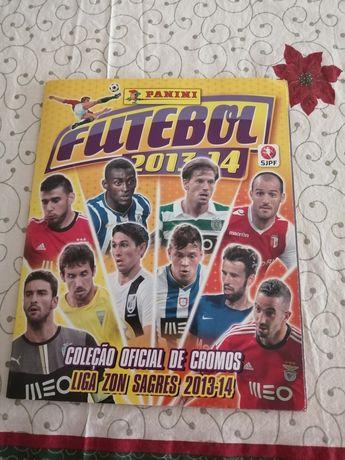 Caderneta Cromos Panini Liga Portuguesa 2013/2014