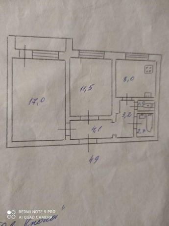 Продам 2х комнатную квартиру Левый берег, 3 мкр. возле Варуса