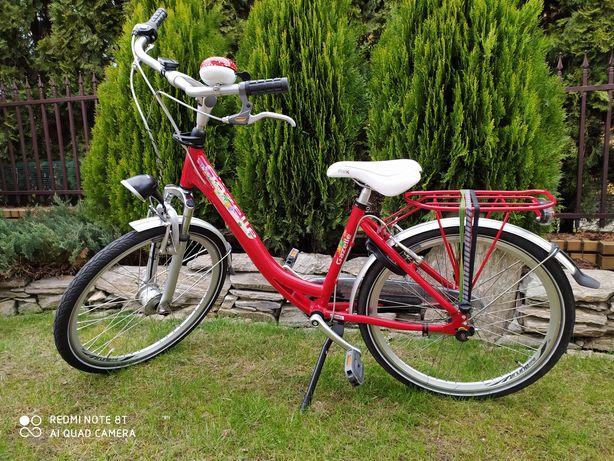 Rower dziewczęcy Gazelle 24cal