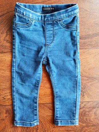 Spodnie jeansowe r. 80