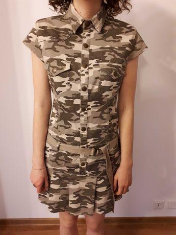 Sukienka mini moro