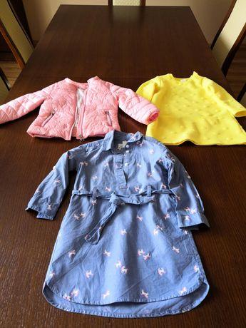 Ubrania dla dziewczynki 86/92 WYSYŁKA 1zł