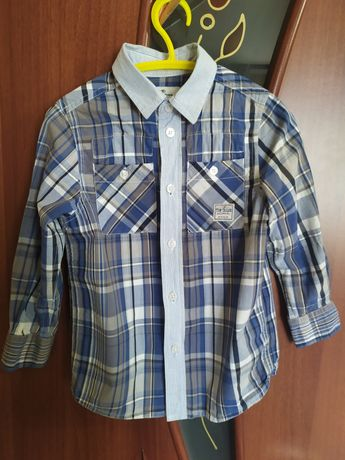 Рубашка на мальчика tom tailor 104-110