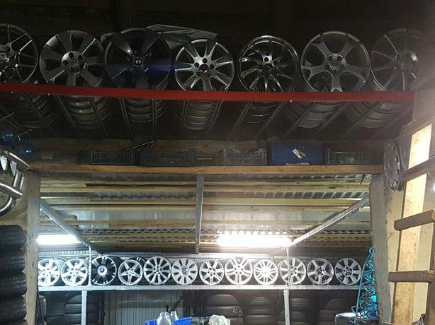 Felgi Aluminiowe R13.14.15.16.17.18.19-duzy wybór Montaż