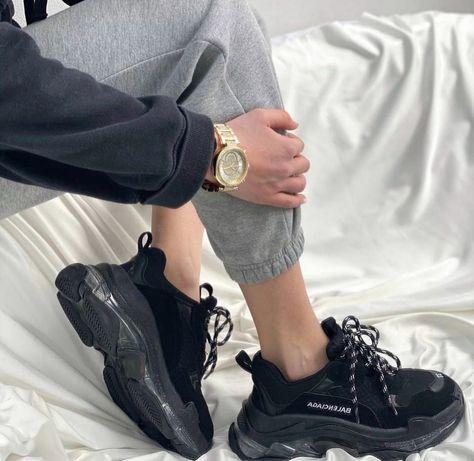 Женские кроссовки Balenciaga Triple S, черный