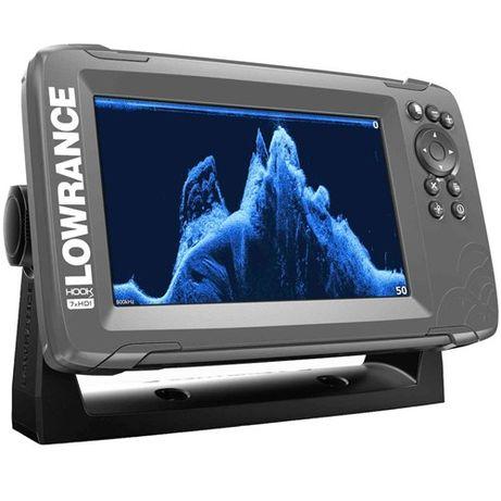 Эхолот Ехолот Lowrance HOOK2-7х SplitShot GPS Plotter Гарантия