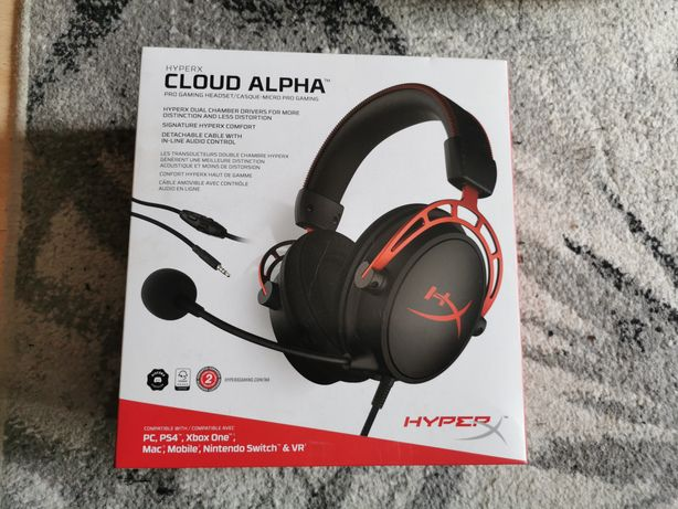 Sluchawki Hyperx cloud alpha