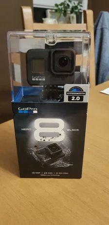 FV23%! Kamera GoPro Hero 8 Black Czarna - NOWA GWARANCJA 24 MIESIĄCE