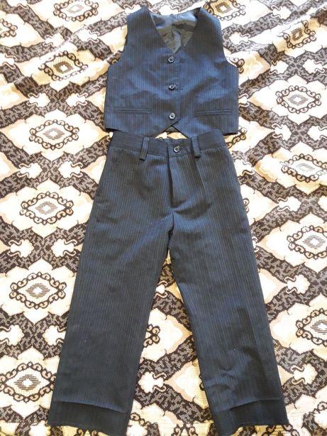 Костюм брюки и жилетка для мальчика