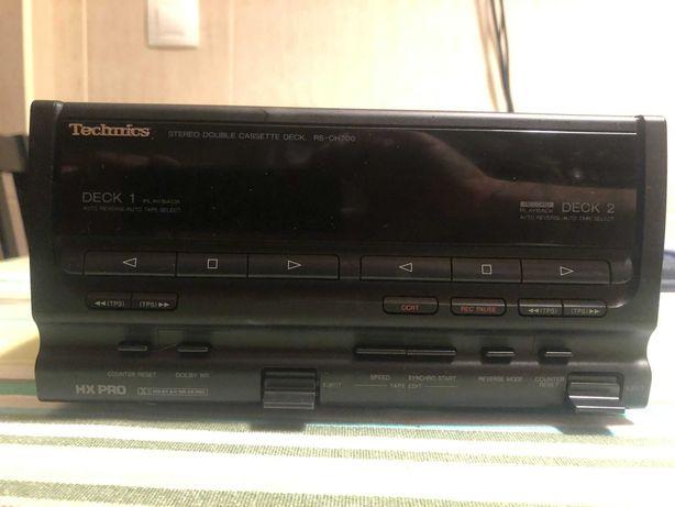 Deck Duplo Technics RS-CH700
