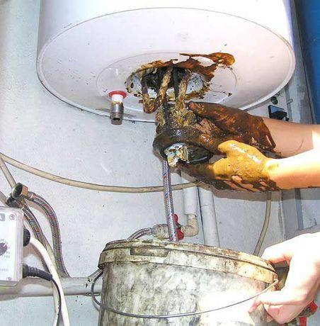 Ремонт,чистка и установка водонагревателей.